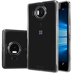 Microsoft Lumia 950 XL用極薄ソフトケース シリコンケース 耐衝撃 全面保護 クリア透明 T02 Microsoft クリア