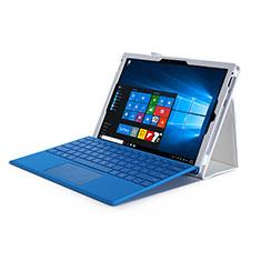 Microsoft Surface Pro 4用手帳型 レザーケース スタンド Microsoft ホワイト