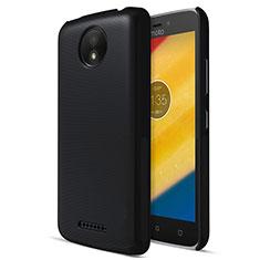 Motorola Moto C Plus用ハードケース プラスチック 質感もマット モトローラ ブラック