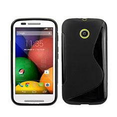 Motorola Moto E XT1021用ソフトケース S ライン モトローラ ブラック
