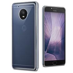 Motorola Moto E4 Plus用極薄ソフトケース シリコンケース 耐衝撃 全面保護 クリア透明 カバー モトローラ クリア