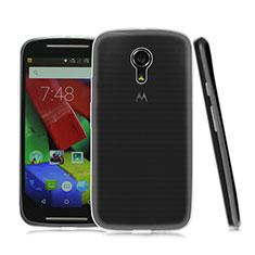 Motorola Moto G (2世代)用極薄ソフトケース シリコンケース 耐衝撃 全面保護 クリア透明 モトローラ クリア