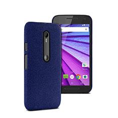Motorola Moto G (3世代)用ハードケース プラスチック 質感もマット モトローラ ネイビー