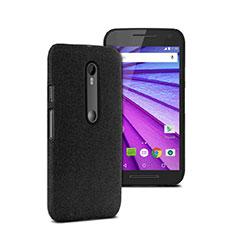 Motorola Moto G (3世代)用ハードケース プラスチック 質感もマット モトローラ ブラック
