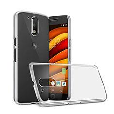 Motorola Moto G4用ハードケース クリスタル クリア透明 モトローラ クリア