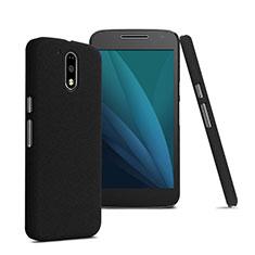 Motorola Moto G4 Plus用ハードケース プラスチック 質感もマット モトローラ ブラック