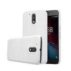 Motorola Moto G4 Plus用ハードケース プラスチック 質感もマット モトローラ ホワイト