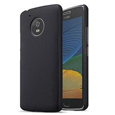 Motorola Moto G5用ハードケース プラスチック 質感もマット モトローラ ブラック