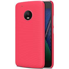 Motorola Moto G5 Plus用ハードケース プラスチック 質感もマット M01 モトローラ レッド