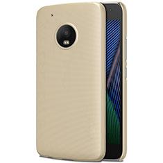Motorola Moto G5 Plus用ハードケース プラスチック 質感もマット モトローラ ゴールド