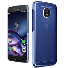 Motorola Moto G5S用ハードケース クリスタル クリア透明 モトローラ クリア