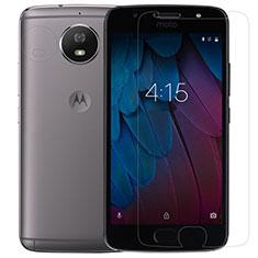 Motorola Moto G5S用強化ガラス 液晶保護フィルム T01 モトローラ クリア