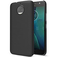 Motorola Moto G5S Plus用ハードケース プラスチック 質感もマット モトローラ ブラック