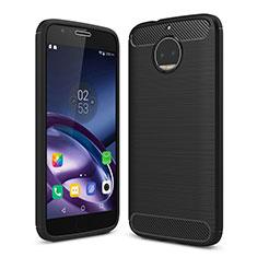 Motorola Moto G5S Plus用シリコンケース ソフトタッチラバー カバー モトローラ ブラック