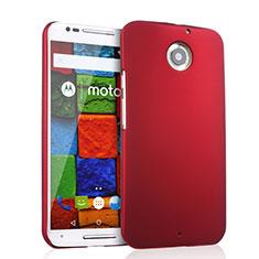 Motorola Moto X (2世代)用ハードケース プラスチック 質感もマット モトローラ レッド