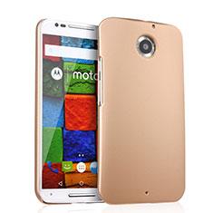 Motorola Moto X (2世代)用ハードケース プラスチック 質感もマット モトローラ ゴールド