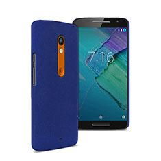 Motorola Moto X Play用ハードケース プラスチック 質感もマット モトローラ ネイビー