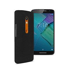 Motorola Moto X Play用ハードケース プラスチック 質感もマット モトローラ ブラック