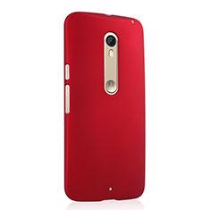 Motorola Moto X Style用ハードケース プラスチック 質感もマット モトローラ レッド