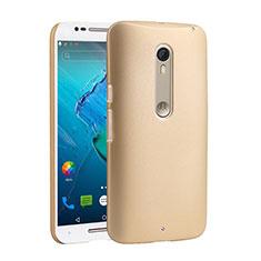 Motorola Moto X Style用ハードケース プラスチック 質感もマット モトローラ ゴールド