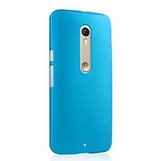 Motorola Moto X Style用ハードケース プラスチック 質感もマット モトローラ ブルー