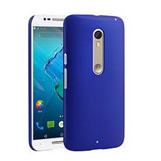 Motorola Moto X Style用ハードケース プラスチック 質感もマット モトローラ ネイビー