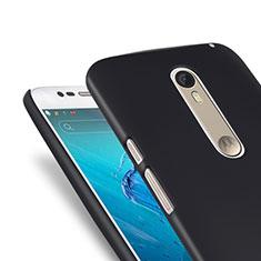 Motorola Moto X Style用ハードケース プラスチック 質感もマット モトローラ ブラック