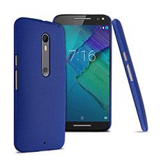 Motorola Moto X Style用ハードケース カバー プラスチック モトローラ ネイビー