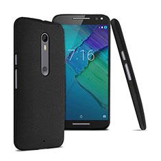 Motorola Moto X Style用ハードケース カバー プラスチック モトローラ ブラック