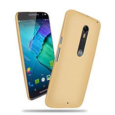Motorola Moto X Style用ハードケース プラスチック 質感もマット カバー モトローラ ゴールド