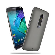 Motorola Moto X Style用ハードケース プラスチック 質感もマット モトローラ グレー