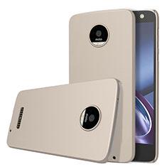 Motorola Moto Z用ハードケース プラスチック 質感もマット モトローラ ゴールド