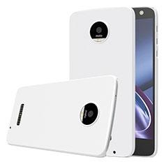 Motorola Moto Z用ハードケース プラスチック 質感もマット モトローラ ホワイト