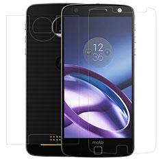 Motorola Moto Z用高光沢 液晶保護フィルム 背面保護フィルム同梱 モトローラ クリア