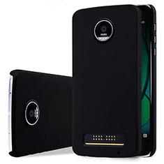 Motorola Moto Z Play用ハードケース プラスチック 質感もマット モトローラ ブラック