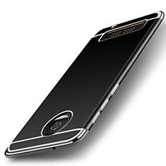 Motorola Moto Z Play用シリコンケース ソフトタッチラバー カバー モトローラ シルバー