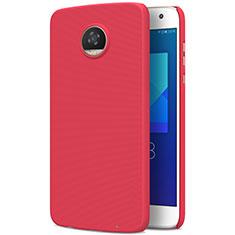 Motorola Moto Z2 Play用ハードケース プラスチック 質感もマット M01 モトローラ レッド
