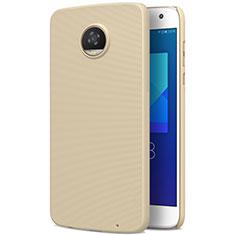 Motorola Moto Z2 Play用ハードケース プラスチック 質感もマット モトローラ ゴールド