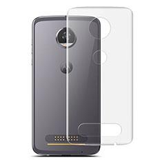 Motorola Moto Z2 Play用背面保護フィルム 背面フィルム モトローラ クリア