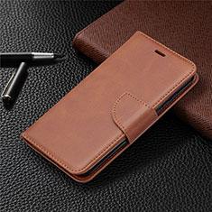 Nokia 1.3用手帳型 レザーケース スタンド カバー L04 ノキア ブラウン