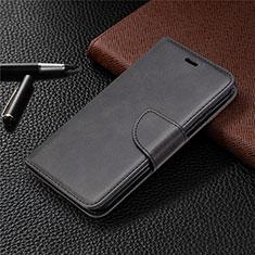 Nokia 1.3用手帳型 レザーケース スタンド カバー L04 ノキア ブラック
