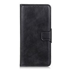 Nokia 1.3用手帳型 レザーケース スタンド カバー L07 ノキア ブラック