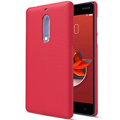 Nokia 5用ハードケース プラスチック 質感もマット M01 ノキア レッド
