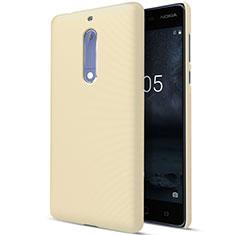 Nokia 5用ハードケース プラスチック 質感もマット ノキア ゴールド