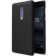 Nokia 5用ハードケース プラスチック 質感もマット ノキア ブラック