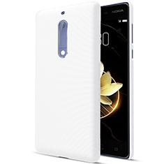 Nokia 5用ハードケース プラスチック 質感もマット ノキア ホワイト
