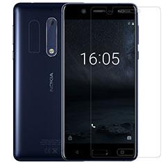Nokia 5用強化ガラス 液晶保護フィルム ノキア クリア
