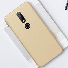 Nokia 6.1 Plus用ハードケース プラスチック 質感もマット M01 ノキア ゴールド