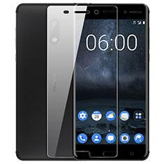 Nokia 6用強化ガラス 液晶保護フィルム T02 ノキア クリア