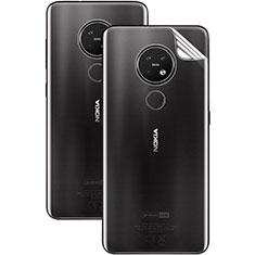Nokia 7.2用背面保護フィルム 背面フィルム ノキア クリア